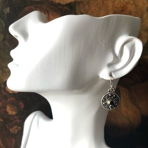 🔥 Vintage Marcasite Earrings